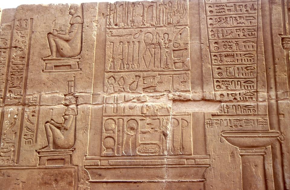 Egypt, Hieroglyph, Hieroglyphics, Ancient, Hieroglyphs