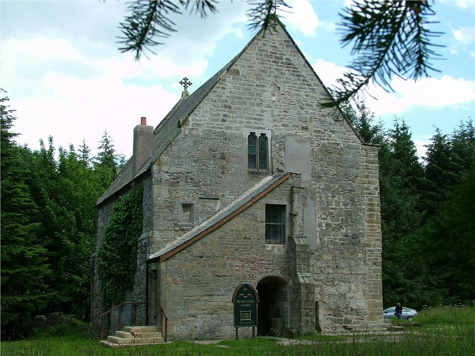 Biddlestone, Northumberland, Historic, Chapel, Ancient