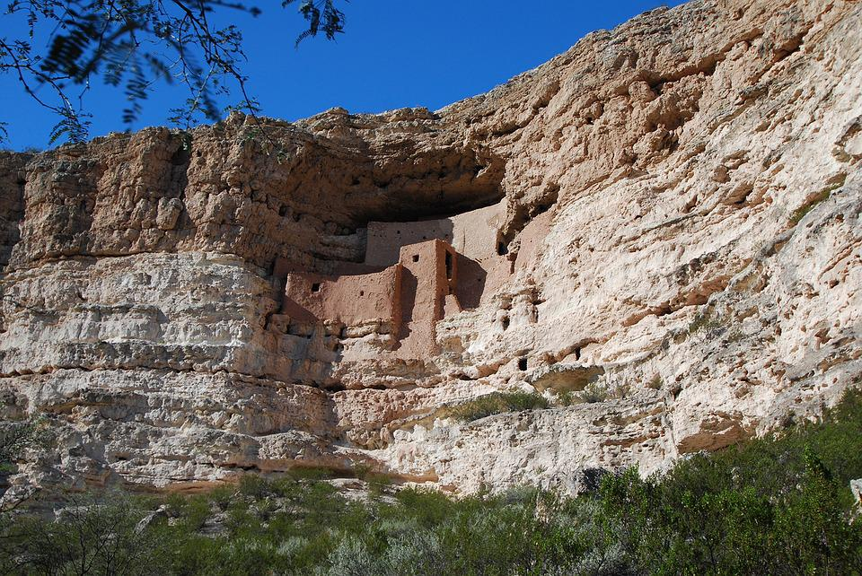 Montezuma's Castle, Arizona, Southwest, Ancient, Indian