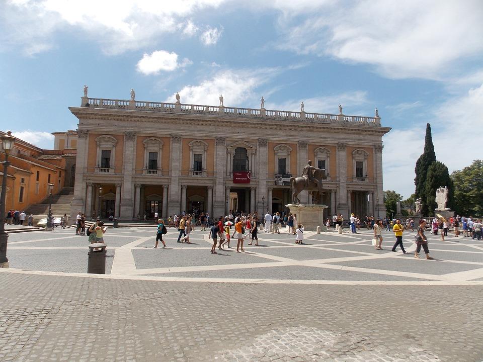 Capitol, Rome, Italy, Roman, Ancient, Culture, History