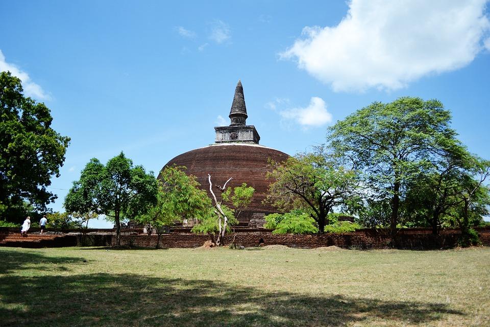 Temple, Polonnaruwa, Ancient Ruins, Ancient, Historic