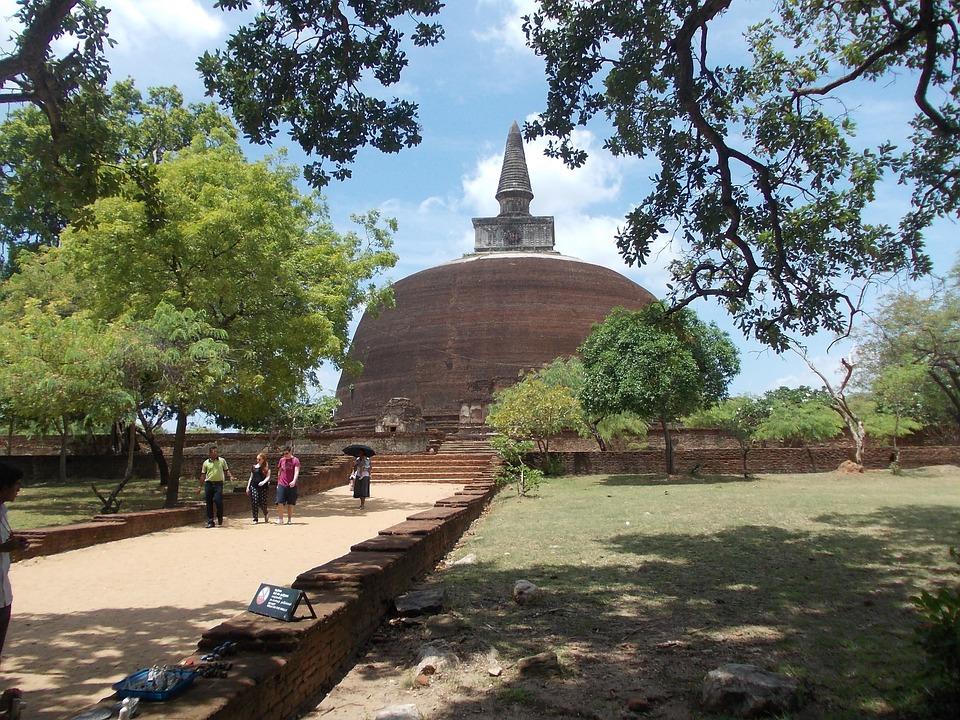 Ancient, Ruins, Sri Lanka, Polonnaruwa