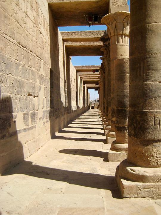 Egypt, Day, Sun, Ancient, Ruins