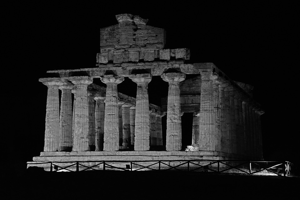 Italy, Temple, Antique, Greek Temple, Ancient Ruins