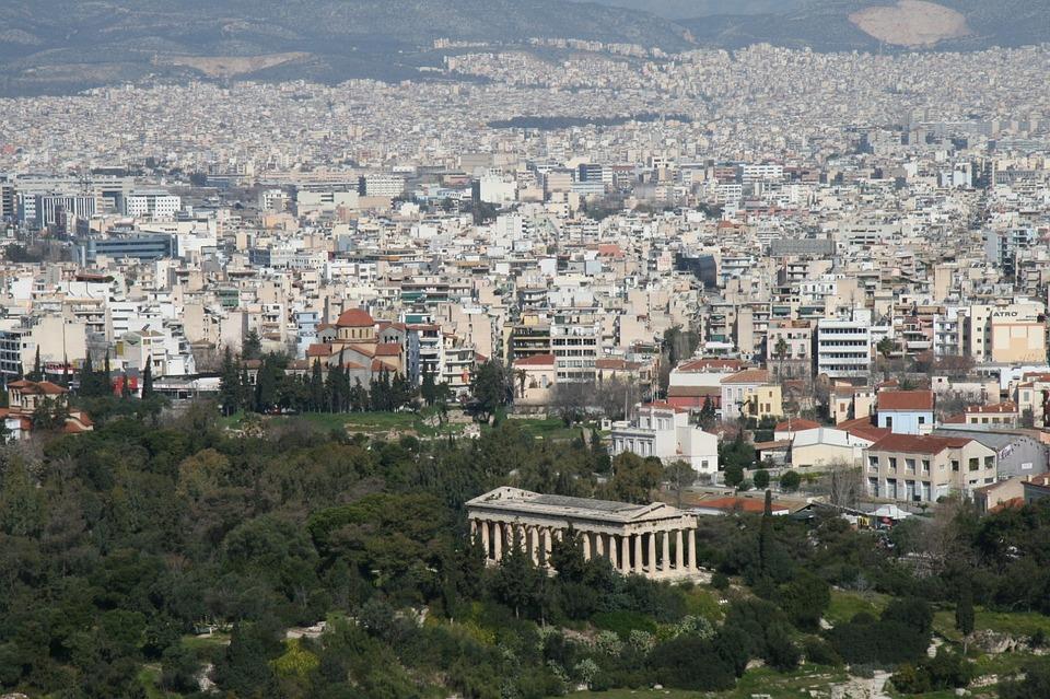 Athens, Greece, Temple, Architecture, Ancient, Landmark