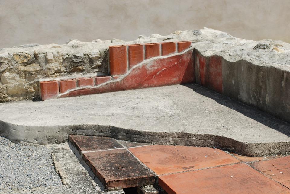 Romans, Ancient Times, Reconstruction, Roman, Bathhouse