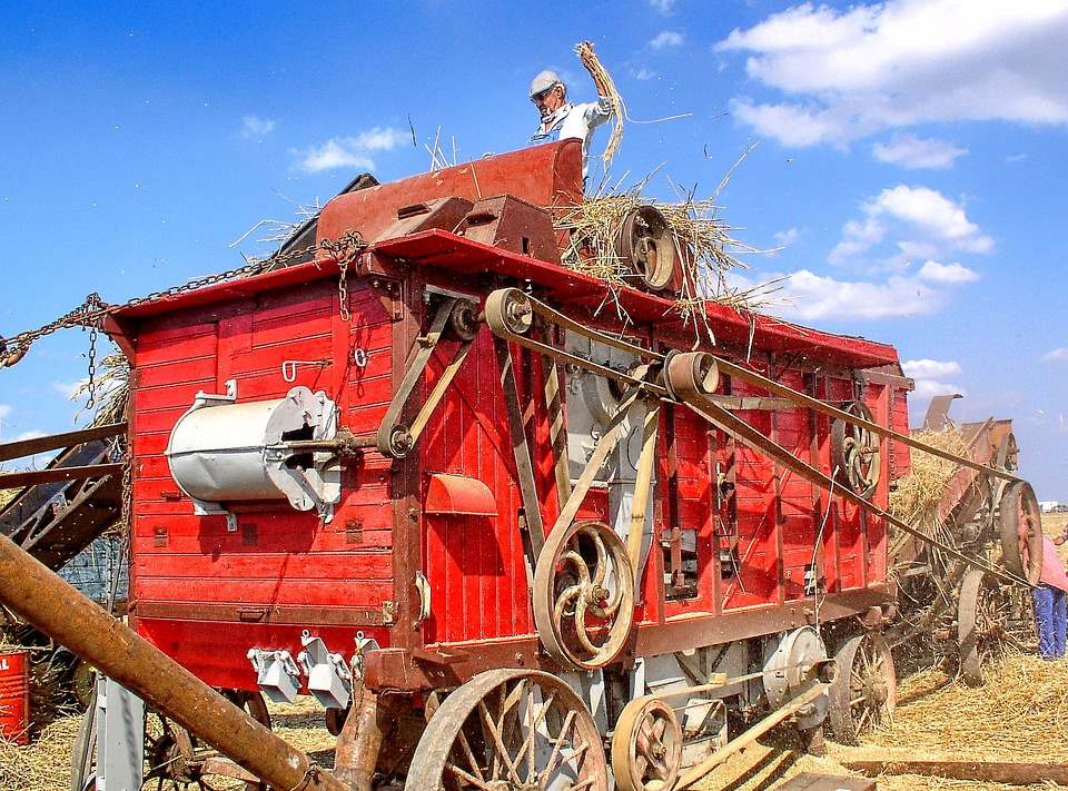 Ancient Trades, Wheat, Agricultural Equipment