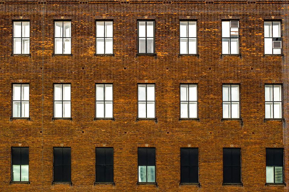 Building, Facade, Brick, Windows, Ancient, Architecture