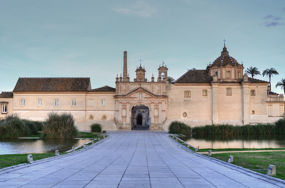 Charterhouse, Seville, Andalusia, Spain, Building