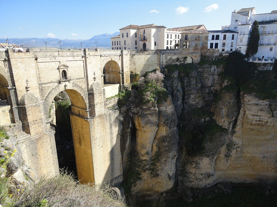 Ronda, City, Spain, Andalusia, Hill City