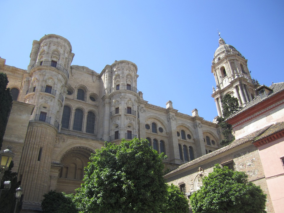 Malaga, Church, Andalusia, Spain