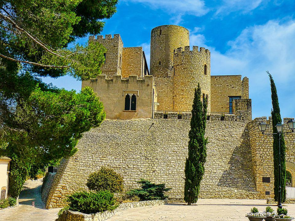 Chateau, Medieval, Fortress, Andalusia, Travel, Tourism