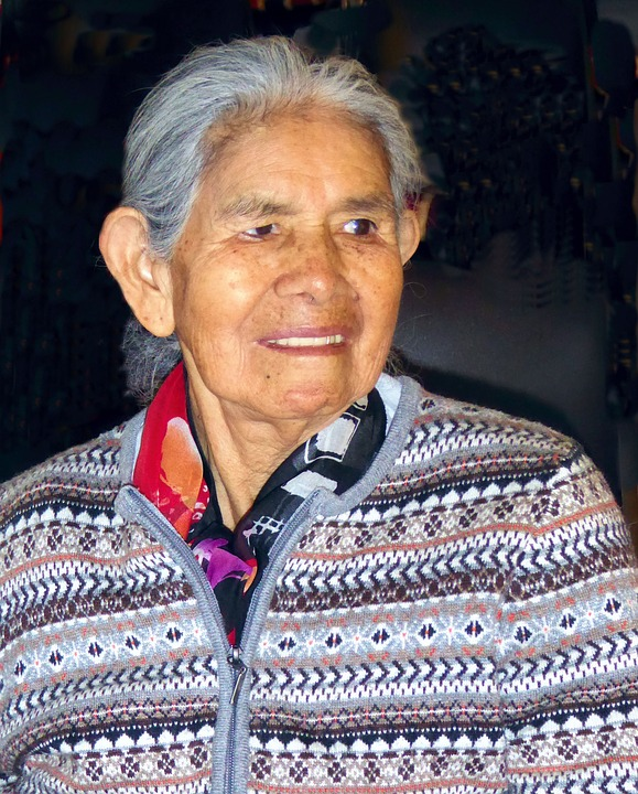 Old Woman, Mesch, Face, Peru, Peruvian, Andes