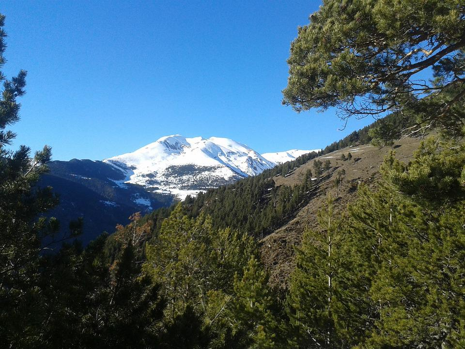 Andorra, Mountain, Snow, Nature