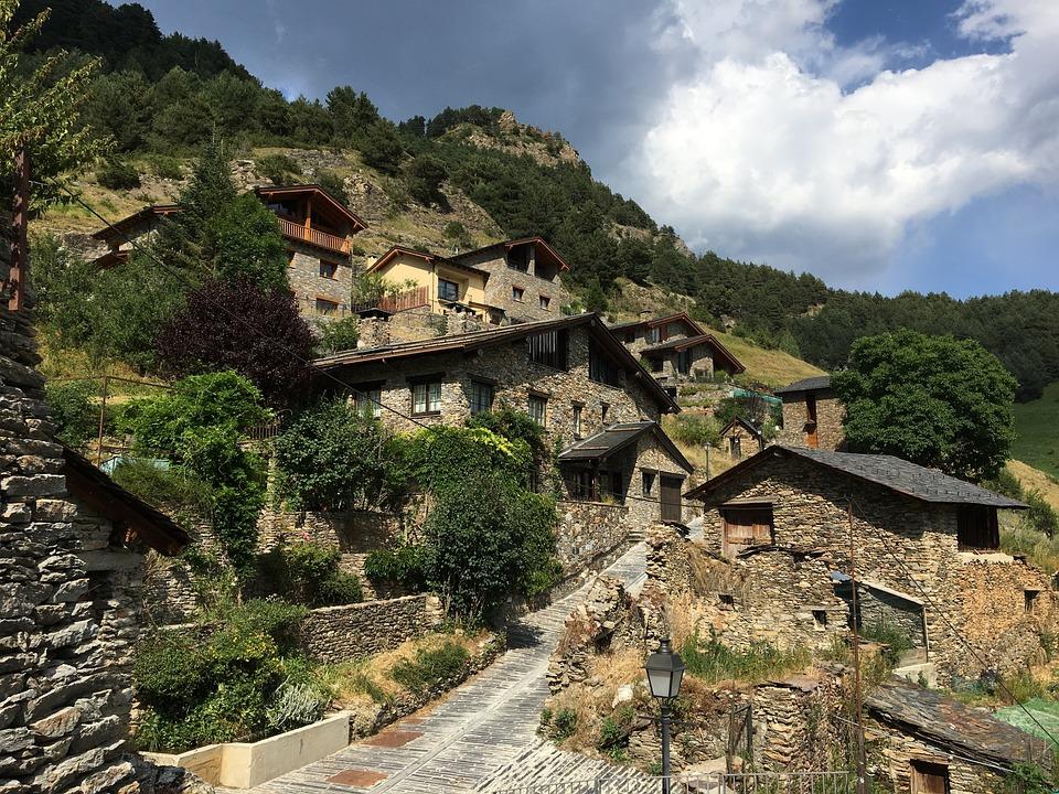 People, Andorra, Stone