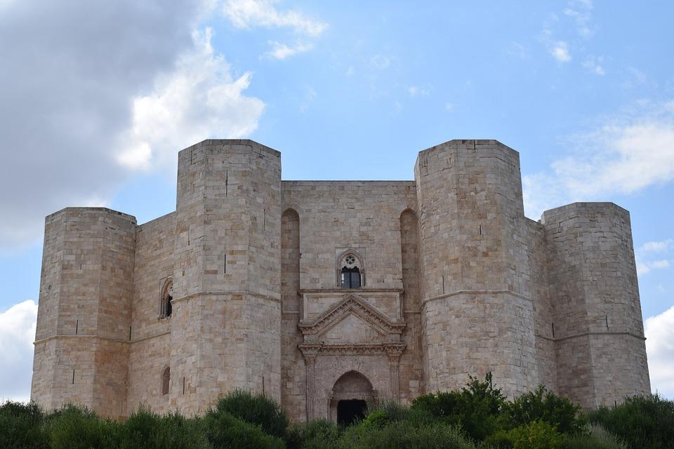 Castel Del Monte, Andria, Octagon, Italy, Puglia