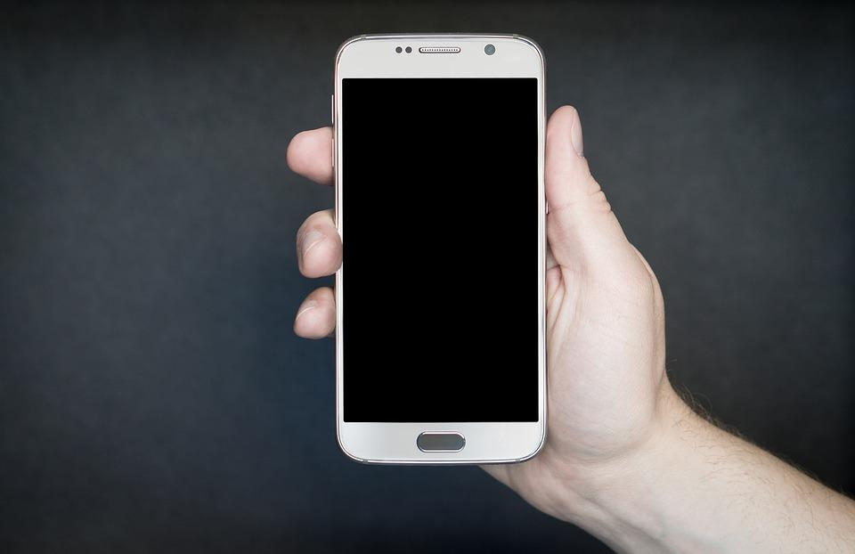 Smartphone, White, Silver, Gray, Android, Technology