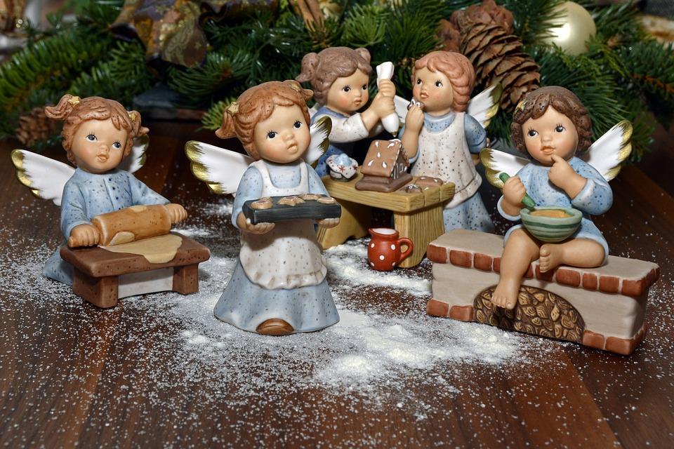 Angel, Bake, Decoration, Deco, Christmas, Delicious