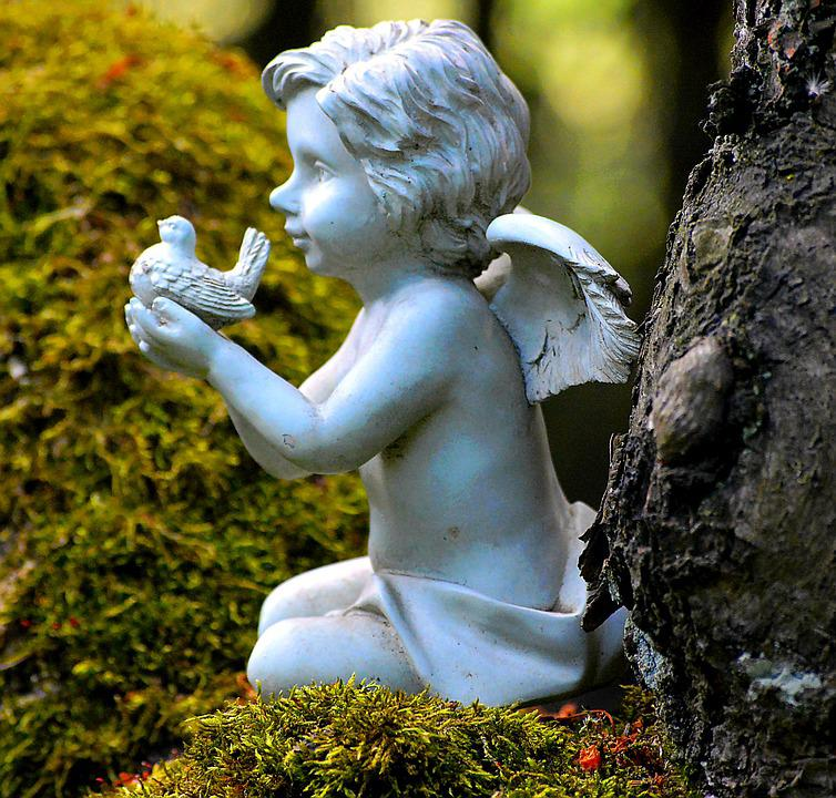 Little Angel, Deco, Angel, Sweet, Cute, Guardian Angel