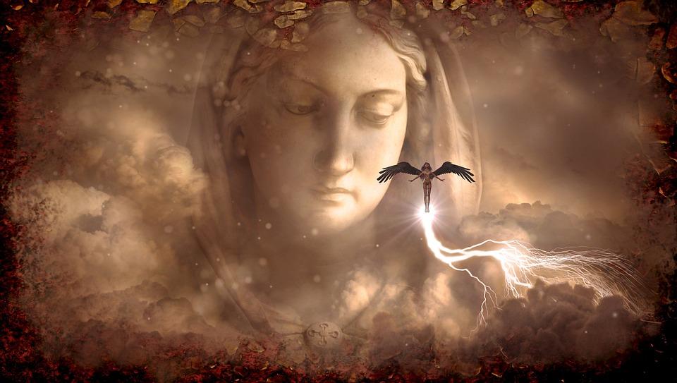 Angel, Fantasy, Female, Woman, Figure, Mystical