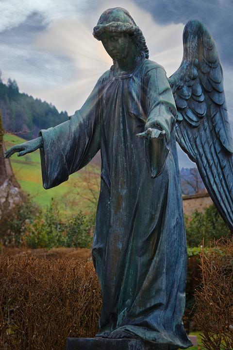 Angel, Statue, Sculpture, Figure, Angel Figure