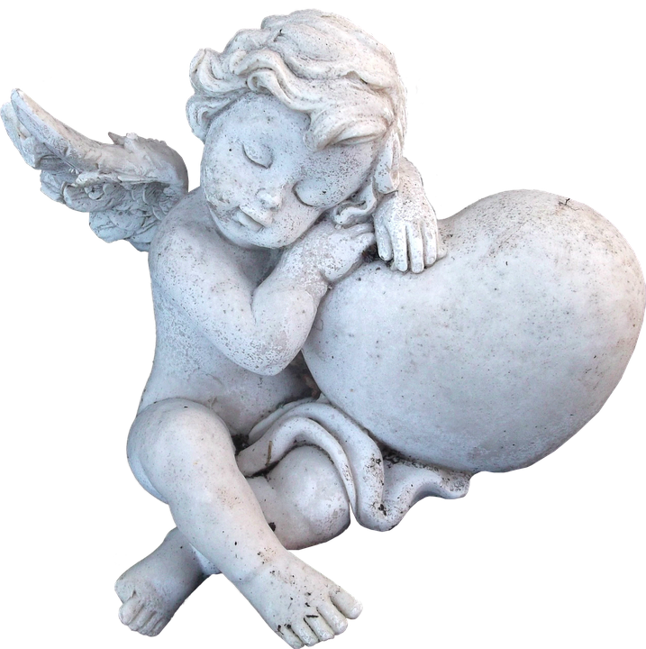 Isolated, Angel, Sculptures, Figure, Faith, Hope