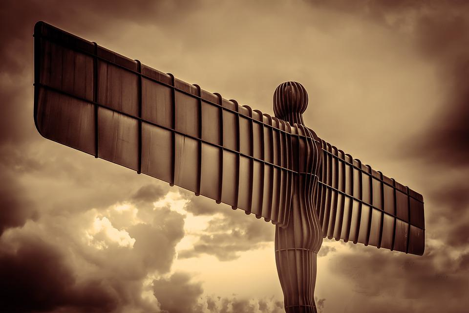 Angel Of The North, North East, England, Sculpture
