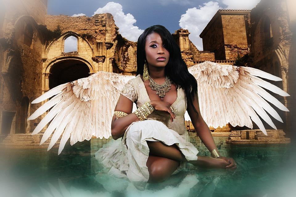 Angel, Fantasy, Spiritual, Angelic, Religious, Heavenly