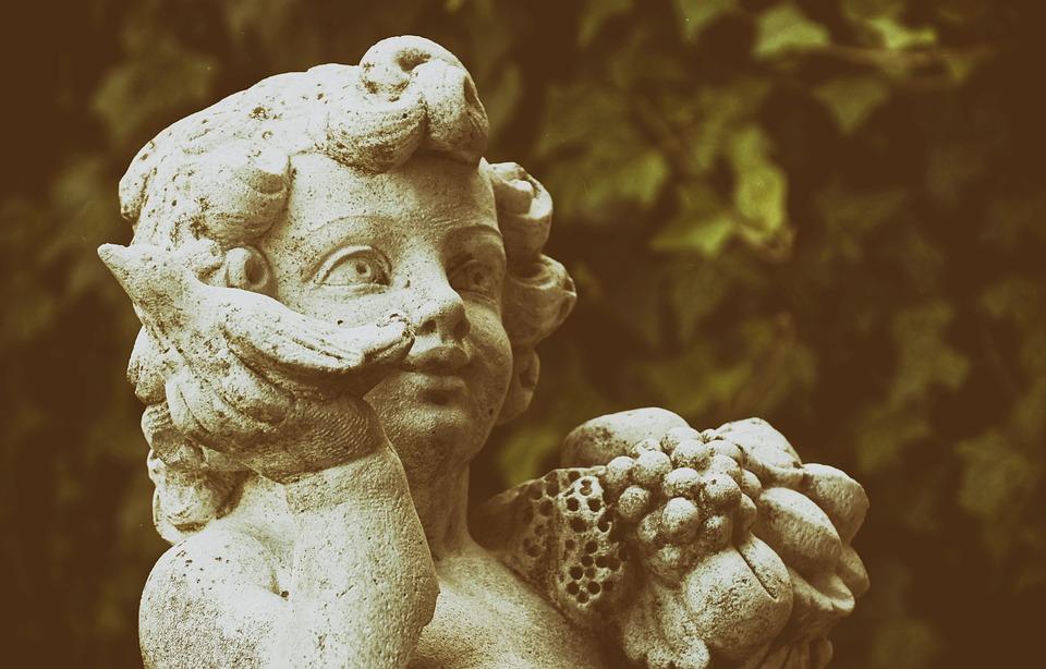 Figure, Stone, Bird, Statue, Sculpture, Art, Angel