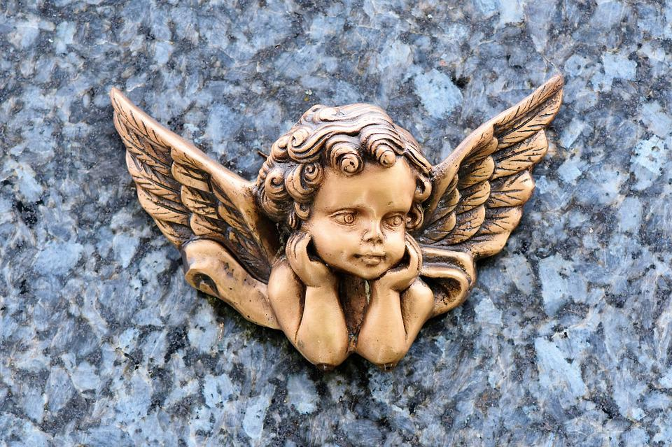 Angel, Angel Figure, Tomb Figure, Tombstone, Figure