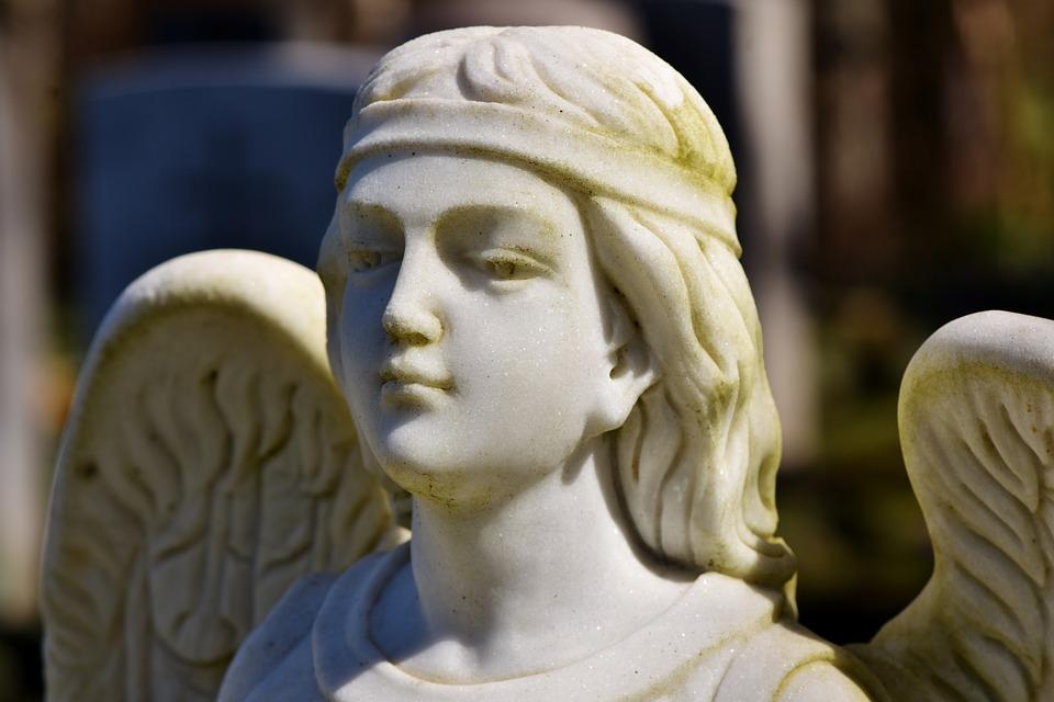 Angel, Angel Figure, Sculpture, Statue, Wing