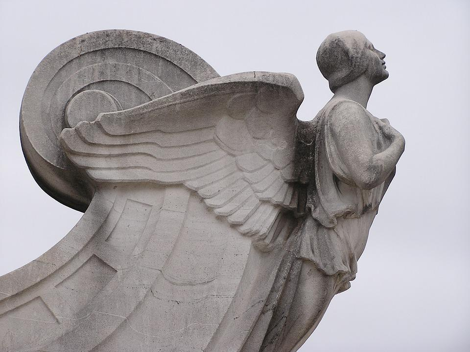 free photo angel wings stone miracle statue guardian faith max pixel