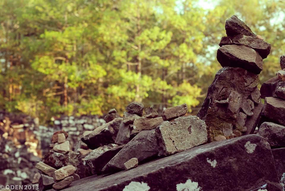 Stone, Heap, Rock, Stones, Nature, Angkor, Angkor Thom