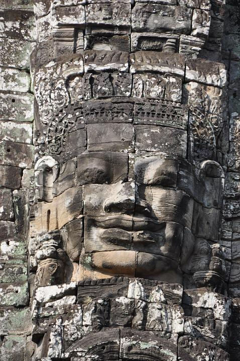 Angkor Thom, Cambodia, Siem Reap