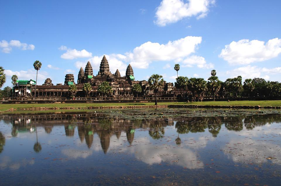 Angkor Wat, Water, Temple, City, History, Monuments