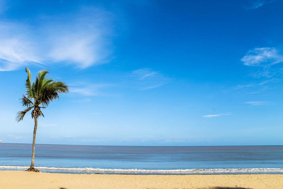 Beach, Africa, Ocean, Angola