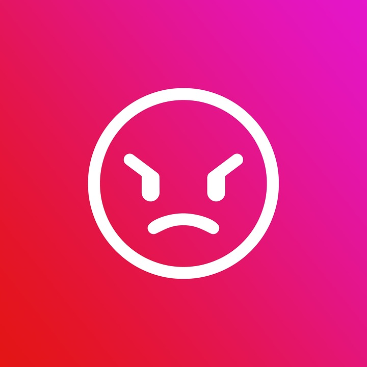 Emoji, Gradient, Angry