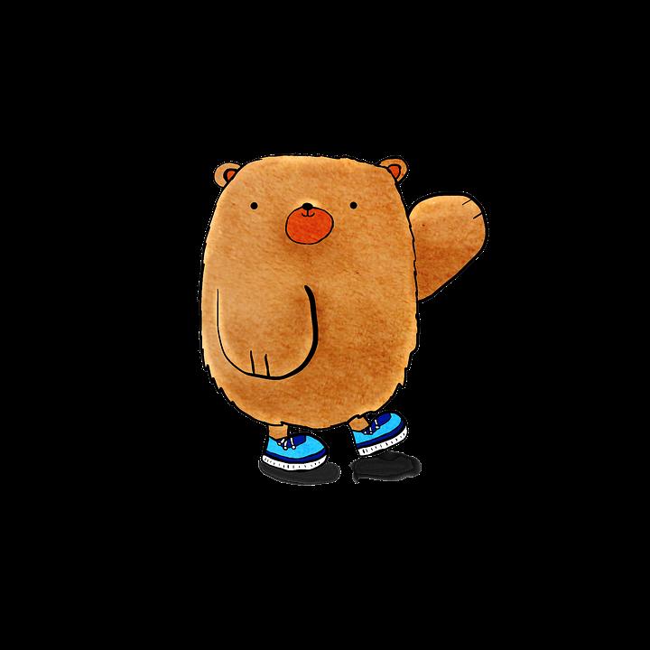 Bear, Cute Bear, Cartoon, Adorable, Cute, Animal