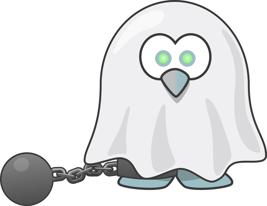 Tux, Animal, Bird, Chain, Dead, Fear, Ghost, Halloween