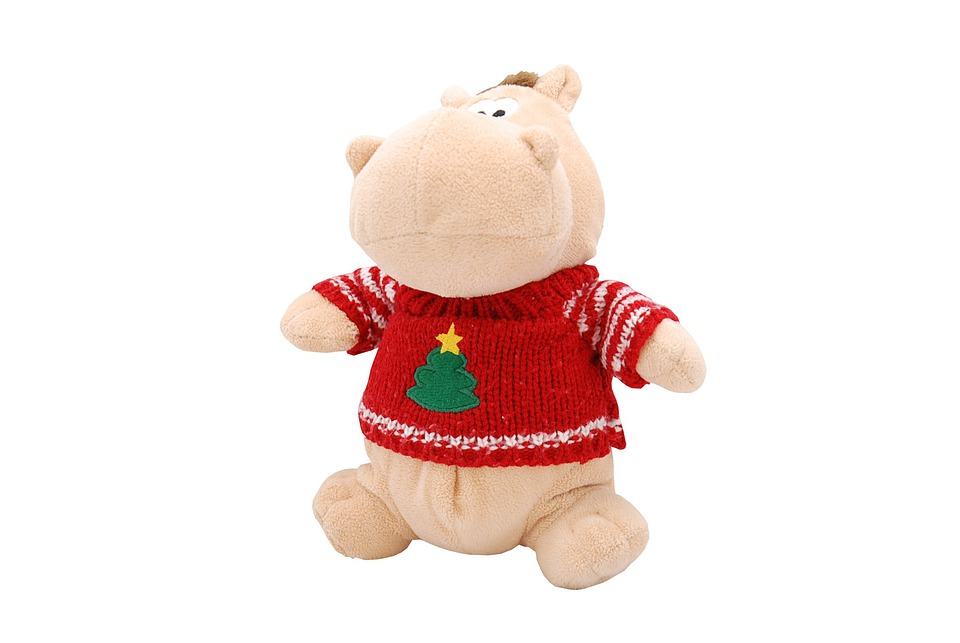 Hippo, Funny, Cute, Animal, Toy, Isolated, Object