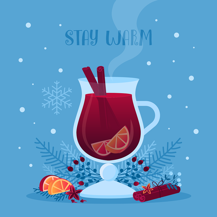 Drink, Beverage, Glass, Anise, Berry, Branch, Card