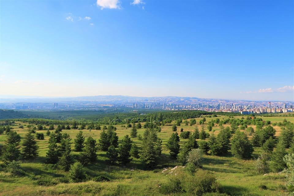 Ankara, City, Environmental, Land, Landscape, Turkey