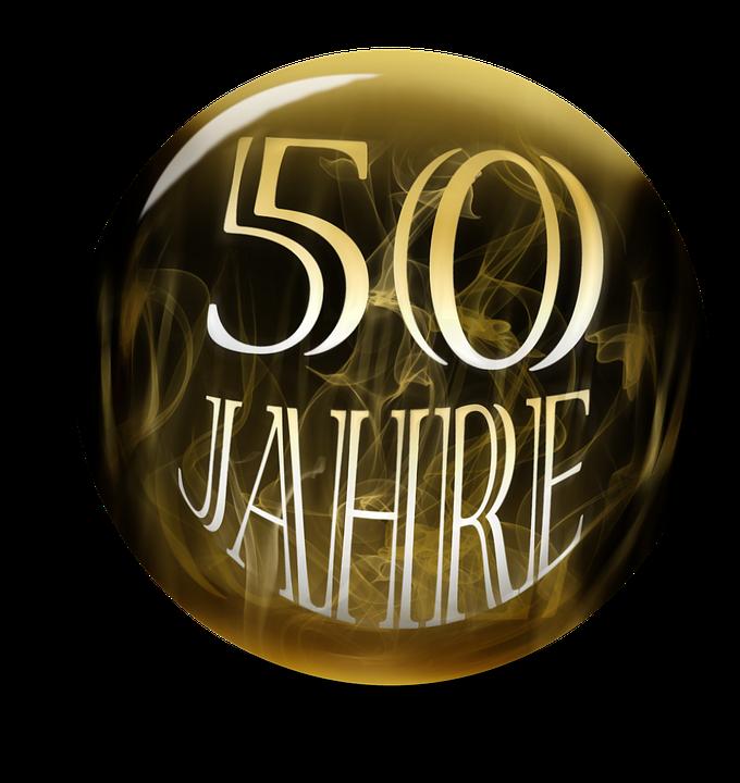 Anniversary, 50 Years, 50 Years Anniversary, Birthday