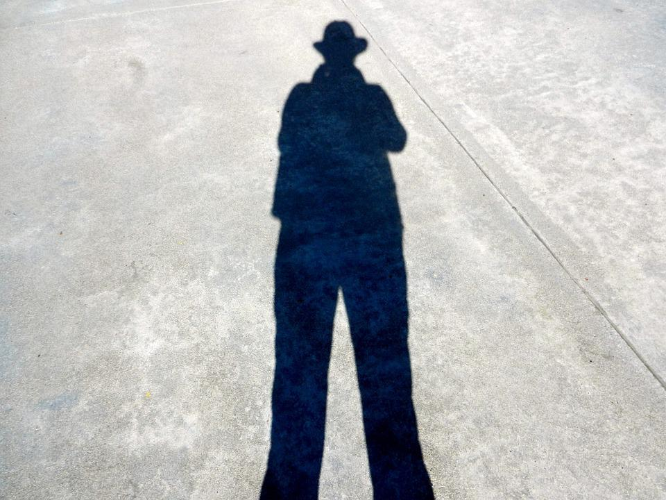 Shadow, Incognito, Anonymous, Male, Hat