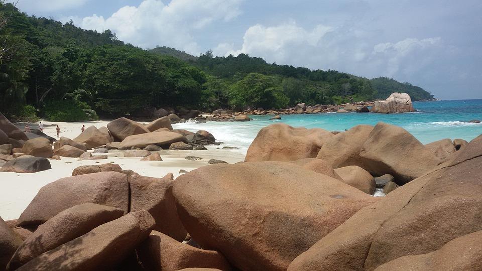 Seychelles, Anse Lazio, Praslin