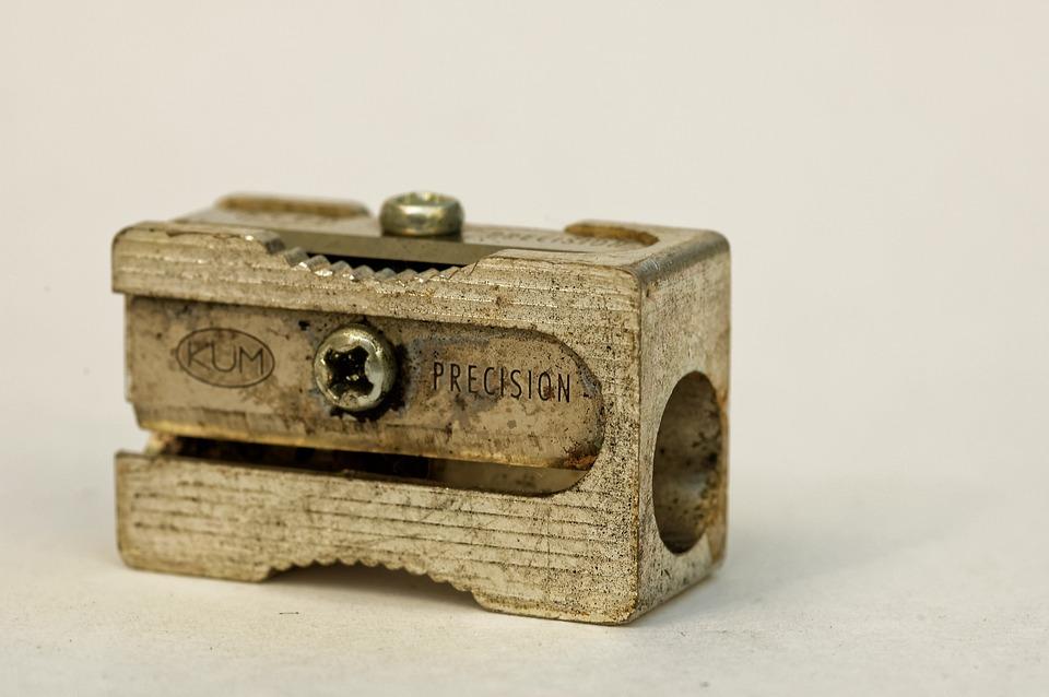 Pencil, Anspritzer, Metal, Vintage