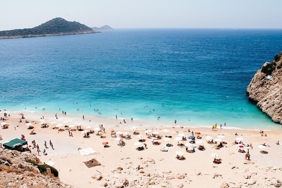 Kaputas, Antalya, Beach, Turkey, Holiday, Water, Sea