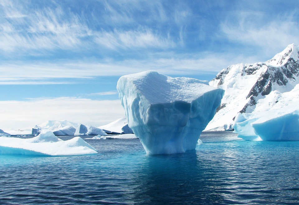 Iceberg, Antarctica, Polar, Blue, Ice, Sea, Scenery