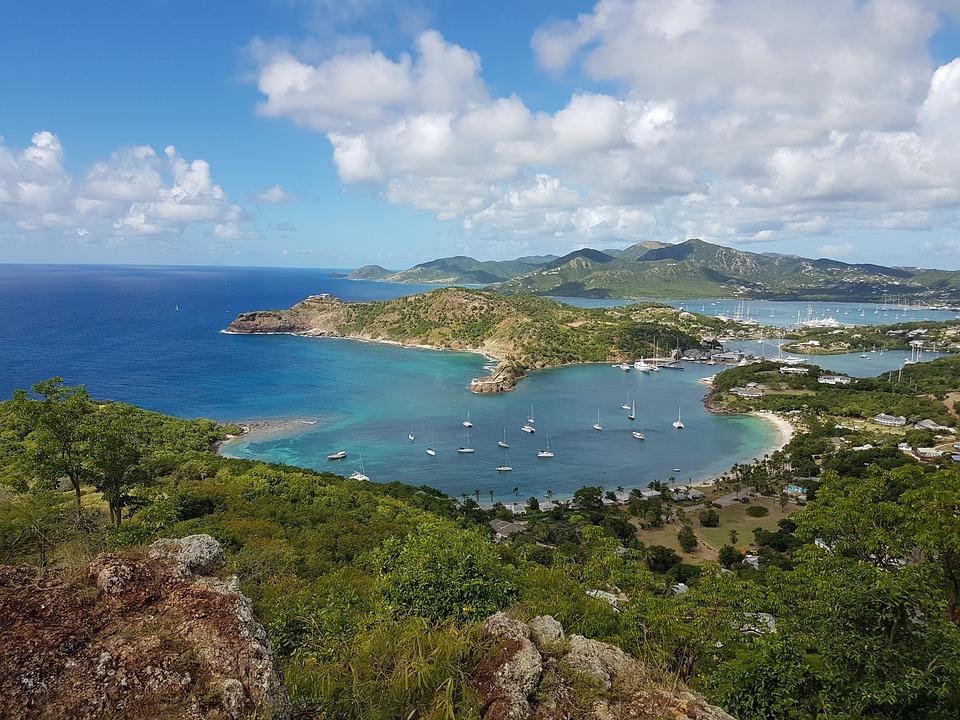 Waters, Coast, Sea, Nature, Travel, Antigua, Caribbean