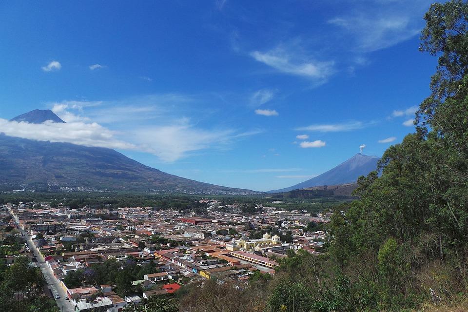 Water Volcano, Active Volcano, Antigua, Guatemala